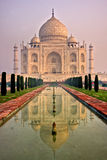 Taj Mahal at sunrise, Agra, Uttar Pradesh, India. Stock Images