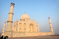 Taj Mahal at sunrise, Agra, Uttar Pradesh, India. Royalty Free Stock Photo