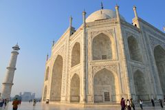 Taj Mahal at Sunrise, India Royalty Free Stock Photos