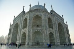 Taj Mahal at Sunrise, India Stock Photos