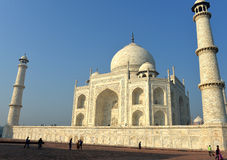 Taj Mahal at Sunrise, India Stock Photo