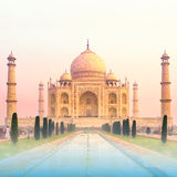 Taj Mahal Sunrise, India Royalty Free Stock Image