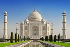 Taj Mahal in sunrise light Stock Photography
