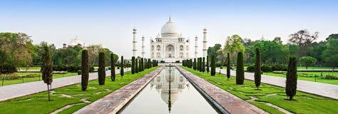 Taj Mahal. In sunrise light, Agra, India royalty free stock photography