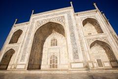 Taj Mahal in sunrise light, Agra, India Royalty Free Stock Images
