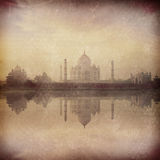 Taj Mahal on sunrise sunset, Agra, India Stock Photo