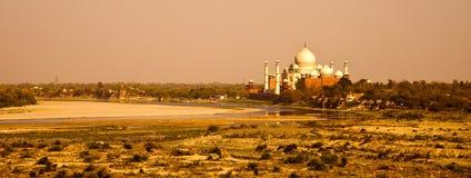 Taj Mahal Sunset Stock Photography
