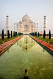 Taj Mahal at sunset, Agra, Uttar Pradesh, India. Royalty Free Stock Photography