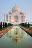Taj Mahal at sunset, Agra, Uttar Pradesh, India. Stock Photos