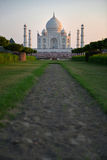 Taj Mahal at Sunset, India Royalty Free Stock Image