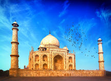 India. Indian Palace Taj Mahal Stock Photography