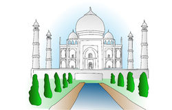 Taj Mahal Royalty Free Stock Image