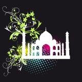 Taj Mahal symbol to India Royalty Free Stock Photos