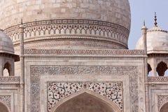 Taj Mahal szczegół, Agra Zdjęcie Stock