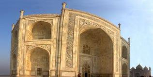 Taj Mahal Tür Stockbild