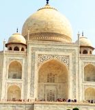Taj mahal in Agra royalty free stock photo
