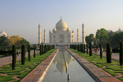 Taj Mahal. Unesco Heritage Site, India royalty free stock image
