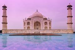 Taj Mahal Temple, Agra Imagen de archivo libre de regalías