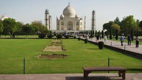 Taj Mahal timelapse, Agra Ινδία απόθεμα βίντεο