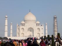 Taj Mahal. Trip to Agra Royalty Free Stock Photography