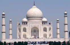 Taj Mahal, un sito del patrimonio mondiale dell'Unesco Fotografie Stock Libere da Diritti