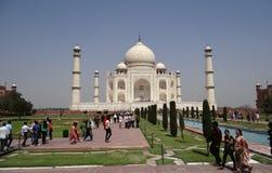 Taj Mahal, un sito del patrimonio mondiale dell'Unesco Fotografia Stock Libera da Diritti