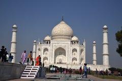 Taj Mahal - UNESCO-Welterbmitte stockbilder