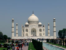 Taj Mahal, a UNESCO world heritage site Royalty Free Stock Images