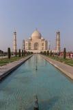 Taj Mahal in Uttar Pradesh, India fotografia stock