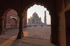 Taj Mahal in Uttar Pradesh, India Royalty Free Stock Photos