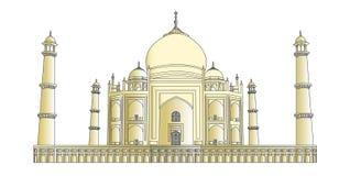 Taj Mahal in very high detail Stock Images
