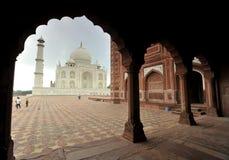 Taj Mahal view Royalty Free Stock Photo