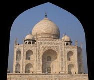 Taj Mahal view 2 Royalty Free Stock Photos