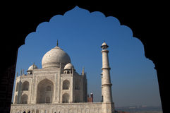 Taj Mahal view Royalty Free Stock Photography
