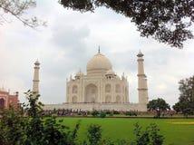 Taj Mahal. A View of the Taj Mahal, Agra Stock Photos