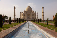 Taj Mahal view Agra in India Royalty Free Stock Images