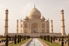 Taj Mahal view Agra in India Royalty Free Stock Photo