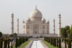 Taj Mahal view Agra in India Royalty Free Stock Photos