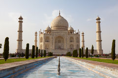 Taj Mahal view Agra in India Royalty Free Stock Photography