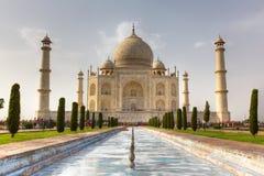 Taj Mahal view Agra in India Royalty Free Stock Images