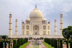 Taj Mahal. View of Taj Mahal from the front gate, Agra, Uttar Pradesh, India Stock Photos