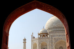 Taj Mahal, view from Mosque Royalty Free Stock Image
