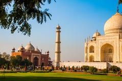 Taj Mahal w Agra, Uttar Pradesh, India Zdjęcie Stock