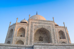 Taj-Mahal w India fotografia royalty free