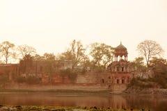 Taj Mahal w wschodu słońca świetle Agra fort w Agra Zdjęcie Royalty Free