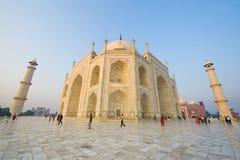 Taj Mahal Weitwinkel Stockfoto