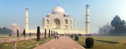 Taj Mahal  white Marble mausoleum Stock Image