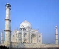 Taj Mahal  white Marble mausoleum Royalty Free Stock Photos