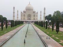 Taj Mahal widok Agra India zdjęcia royalty free