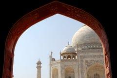 Taj Mahal, widok od meczetu Obraz Royalty Free